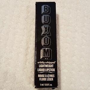 Buxom lightweight liquid lipstick White Russian